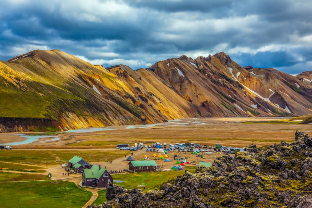 Natural beauty of nature - The natural beauty of nature - Iceland is a beautiful place (11×11)