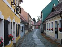 Biecz Lesser Poland - A street in the historic town of Biecz in Lesser Poland