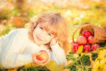 little ones - autumn climates and fruits