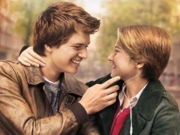 The stars of our wine - The main characters of the movie - Hazel (Shailene Woodley) and Gus (Ansel Elgort) are teenagers who