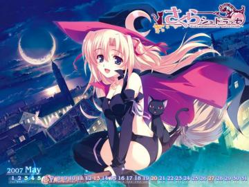 Anime Witch - Photo Witch Wallpaper