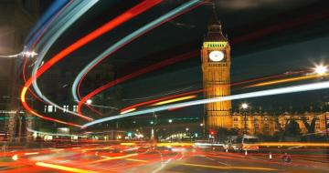 London by night - colorful puzzle jigsaw