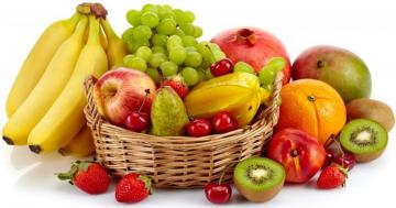 Healthy food - colorful puzzle jigsaw