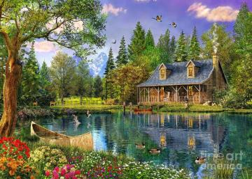 House by the pond - House by the pond ...