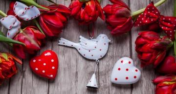 Valentine's puzzle - colorful jigsaw puzzle