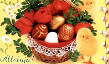 Easter - colorful jigsaw puzzle