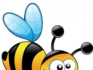 apina puzzle - compose the image of the bee