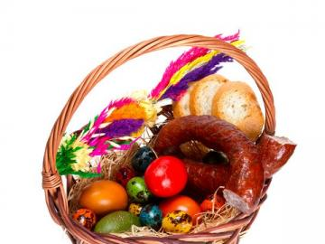 Easter basket - Easter is behind us, see what has been hidden in the picture