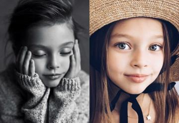 small child - A children's model from Russia