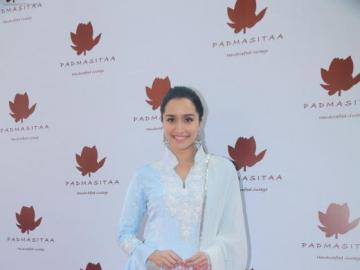 Shraddha Kapoor - Shraddha in a traditional Indian costume at the gala.