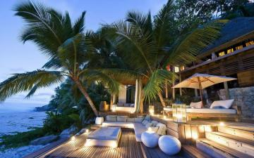 An evening in the tropics - An evening in luxury in the tropics (10×10)