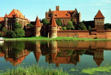 Majestic Malbork. - It makes an impression on every side. From the inside too.