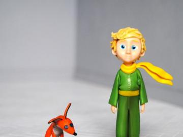 Little Prince - Little prince and fox