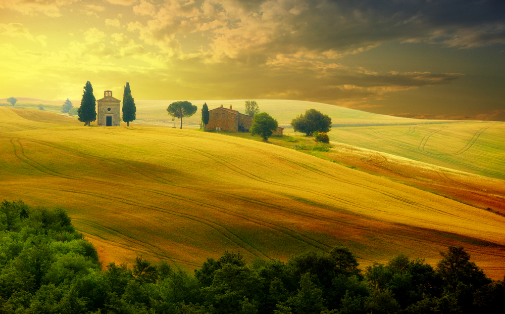 Toscania - It's simply breathtaking (10×10)