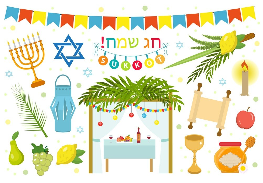 Happy Sukkot - Sukkot Festival, otherwise known as the Feast of Tabernacles (5×5)