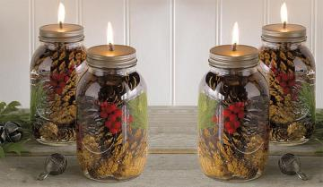 Hand-made candles - Nothing adds charm to your home like candles, and those you've made yourself become a truly uni