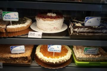 we choose dessert - Website in the cake shop - what to choose?