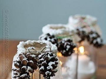 Christmas candlesticks - Candle holders during the holiday season