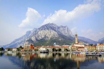 Italy-Lecco. - Landscapes: Italy-Lecco.