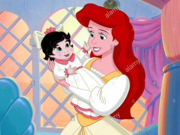 the sirenetta ariel two - the little mermaid ariel and melody two