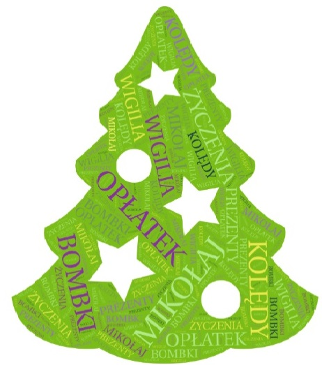 Colorful Christmas tree - GREEN CHRISTMAS WITH DECORATIONS