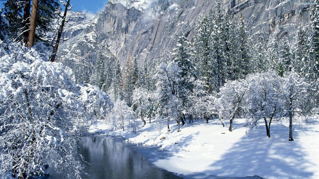 Beautiful winter - A beautiful view, it is a pity that only in the winter (12×12)
