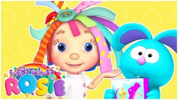 Rosie and Raggles - puzzle - Click to see if there are any errors, but you can not find what they are looking for or not, whether