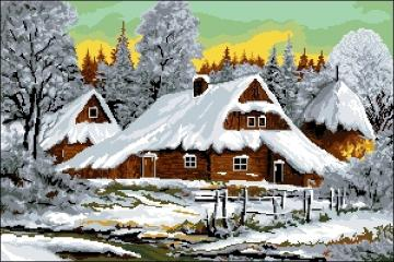 Goral wooden houses. - Goral wooden houses.