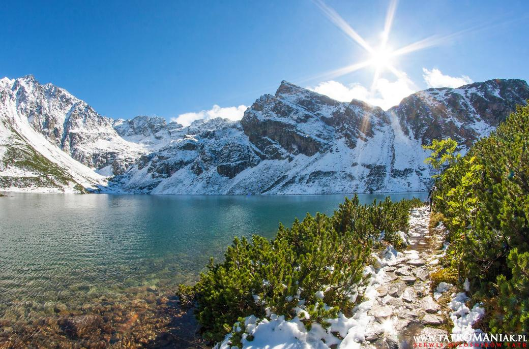 Morskie Oko - Road to the Monk in the winter