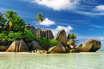 Seychelles in the Indian Ocean - Seychelles, Seychelles, Sesel is an island nation in the Indian Ocean, about 1,600 km from the coast