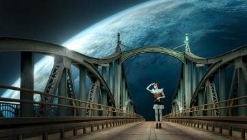 Bridge from the planet - Bridge - a type of crossing in the form of an engineering building, the construction of which allows