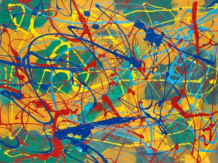 Abstraction. - Modern abstraction.