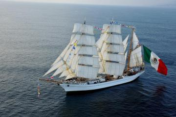 Cuauhtemoc - Mexican Navy Training Ship - ARM Cuauhtémoc is a sail training vessel of the Mexican Navy, named for the last Mexica Hueyi Tlato