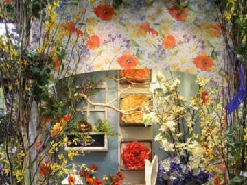 In one of the florists - Flowers, decorations, decoration for Easter