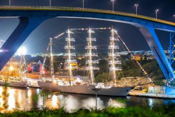 BAP Union in Curacao - The BAP Union is a Peruvian Navy training ship of 115.75 LOA and 13.5 meters built in Callao, Peru.