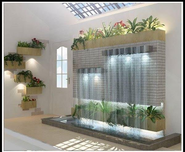 cute landscape for the house - It is a nice design for the house