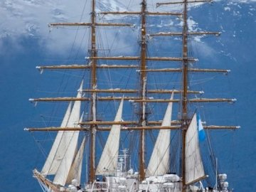 """Libertad - Argentine Training Ship - ARA Libertad (Q-2) is a steel-hulled, full-rigged, class """"A"""" sailing ship that serves as a"""