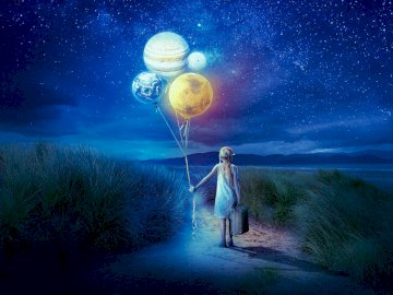 the little girl who loved planets - the little girl who loved planets