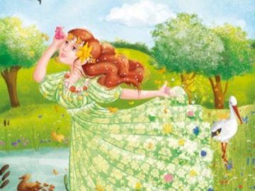 MRS SPRING PUZZLE - LADY SPRINGS FOR CHILDREN