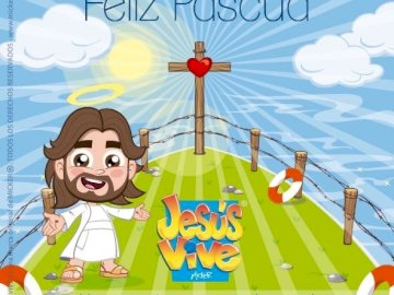Easter - Discover the message of Jesus for this Easter party