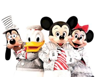 mickey & friends - puzzle mickey mouse & friends