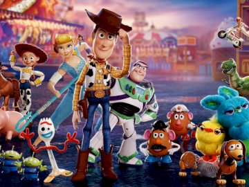 toy story 4 - puzzle toy story 4 if you like this fairy tale then you have to arrange it