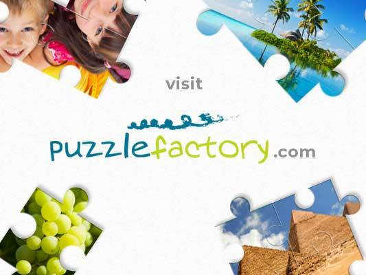 Way of the Cross station V - puzzles for children. Way of the Cross station V