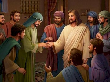 Jesus appears to his disciples - Jesus appears to his disciples