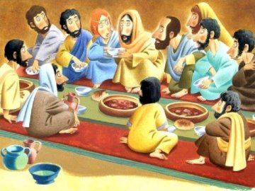 last Supper - Jesus and his disciples during the Last Supper