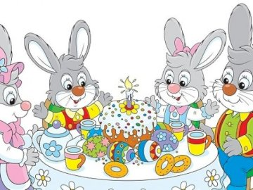 Easter puzzles - Arrange the Easter puzzles. GOOD LUCK :)