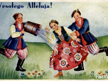 Śmigus-dyngus - Good luck - celebrate and help at home before Christmas!