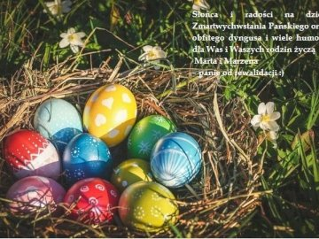 Easter wishes - Easter greeting card for class 1Tip